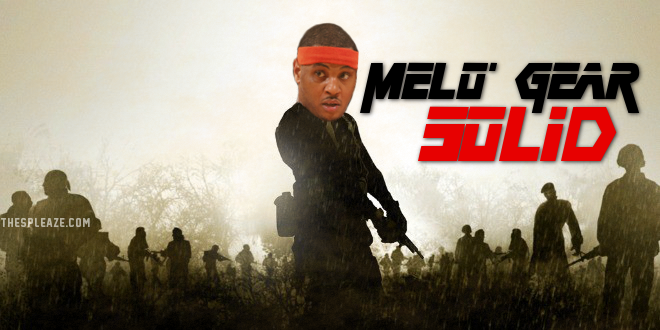 Carmelo Anthony video game meme.